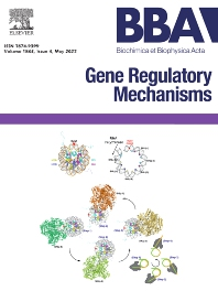 Cover image for Biochimica et Biophysica Acta: Gene Regulatory Mechanisms