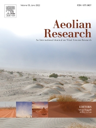 Cover image for Aeolian Research