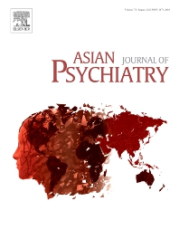 Cover image for Asian Journal of Psychiatry
