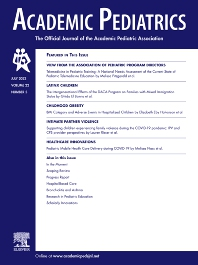 Academic Pediatrics - Journal - Elsevier