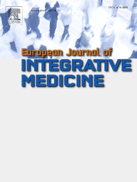 Cover image for European Journal of Integrative Medicine