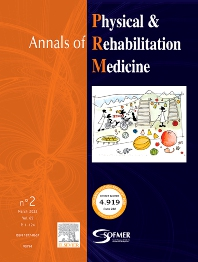 Cover image for Annals of Physical and Rehabilitation Medicine