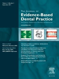 Cover image for Journal of Evidence-Based Dental Practice, Portugal Edition