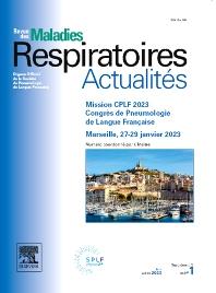 Cover image for Revue des Maladies respiratoires Actualités