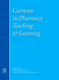 Cover image for Currents in Pharmacy Teaching and Learning