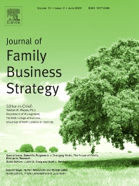 Cover image for Journal of Family Business Strategy