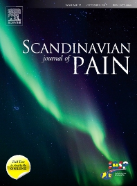 Cover image for Scandinavian Journal of Pain