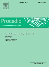Cover image for Procedia Environmental Sciences