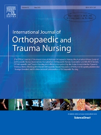 Cover image for International Journal of Orthopaedic and Trauma Nursing