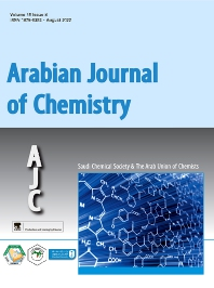Cover image for Arabian Journal of Chemistry