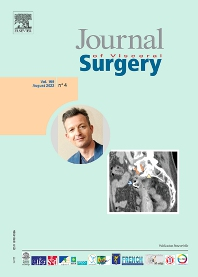 Cover image for Journal of Visceral Surgery