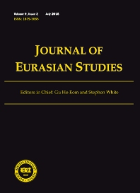 Cover image for Journal of Eurasian Studies