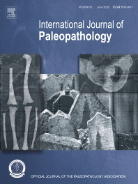 Cover image for International Journal of Paleopathology
