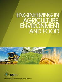 cover of Engineering in Agriculture, Environment and Food
