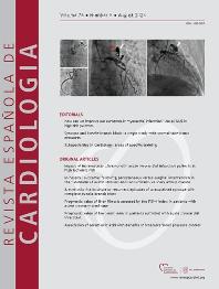 Cover image for Revista Española de Cardiología (English version)