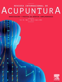 Cover image for Revista Internacional de Acupuntura