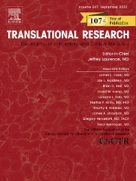 Cover image for Translational Research