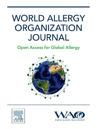 Cover image for World Allergy Organization Journal