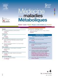 Cover image for Médecine des Maladies Métaboliques