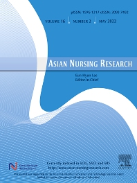 Cover image for Asian Nursing Research