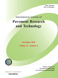 cover of International Journal of Pavement Research and Technology