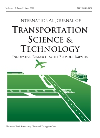 cover of International Journal of Transportation Science and Technology