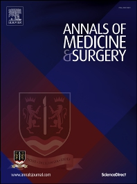 Cover image for Annals of Medicine and Surgery
