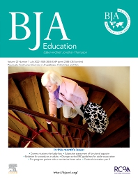 Cover image for BJA Education