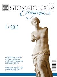 Cover image for Stomatologia Estetyczna