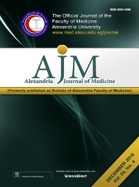Cover image for Alexandria Journal of Medicine