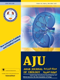 Cover image for Arab Journal of Urology