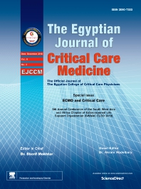 Cover image for The Egyptian Journal of Critical Care Medicine