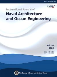 Cover image for International Journal of Naval Architecture and Ocean Engineering