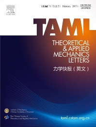Cover image for Theoretical and Applied Mechanics Letters