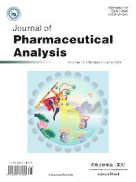 Cover image for Journal of Pharmaceutical Analysis
