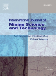 Cover image for International Journal of Mining Science and Technology