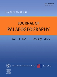 Cover image for Journal of Palaeogeography