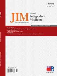 Cover image for Journal of Integrative Medicine