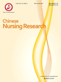 Cover image for Chinese Nursing Research