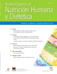 Revista Española de Nutrición Humana y Dietética - ISSN 2173-1292
