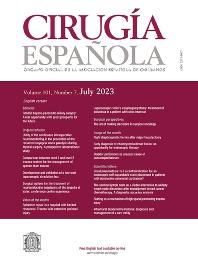 Cover image for Cirugía Española (English edition)