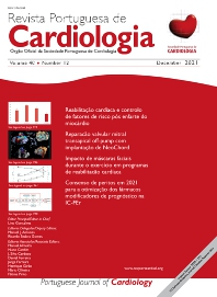 Cover image for Revista Portuguesa de Cardiologia (English Edition)