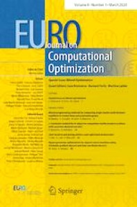 Cover image for EURO Journal on Computational Optimization