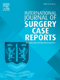 Cover image for International Journal of Surgery Case Reports