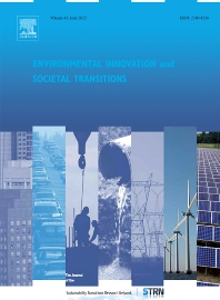 Cover image for Environmental Innovation and Societal Transitions