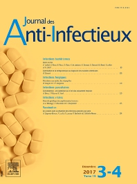 Cover image for Journal des Anti-infectieux