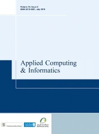 Cover image for Applied Computing and Informatics