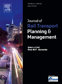 Cover image for Journal of Rail Transport Planning & Management