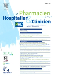 Cover image for Le Pharmacien Hospitalier et Clinicien