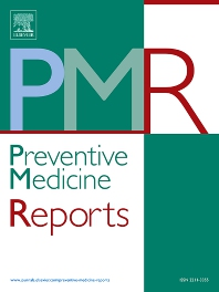 Cover image for Preventive Medicine Reports
